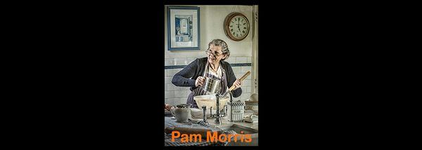 Pam Morris - photographer in Covid Times: when the present meets the past